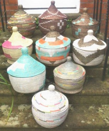 Ethnic Alibaba Large Baba pot  set/2